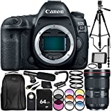 Cheap Canon EOS 5D Mark IV DSLR Camera with EF 16-35mm f/2.8L III USM Lens 30PC Accessory Bundle. Includes 64GB Memory Card + More