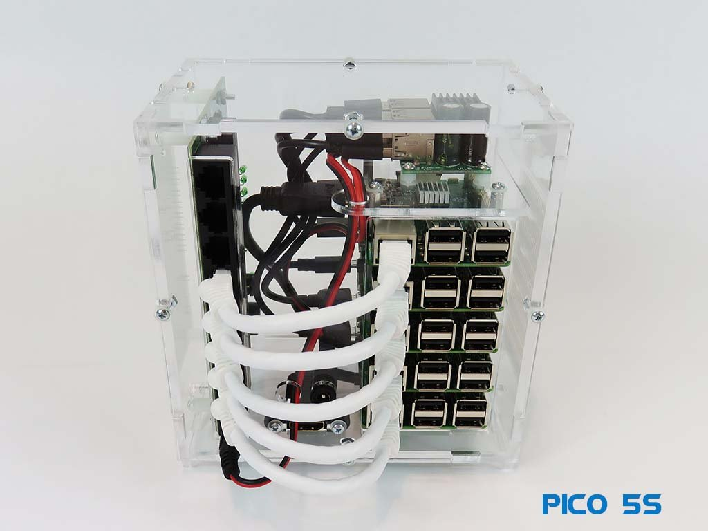 Pico 5S Raspberry PI - Starter Kit - No Storage