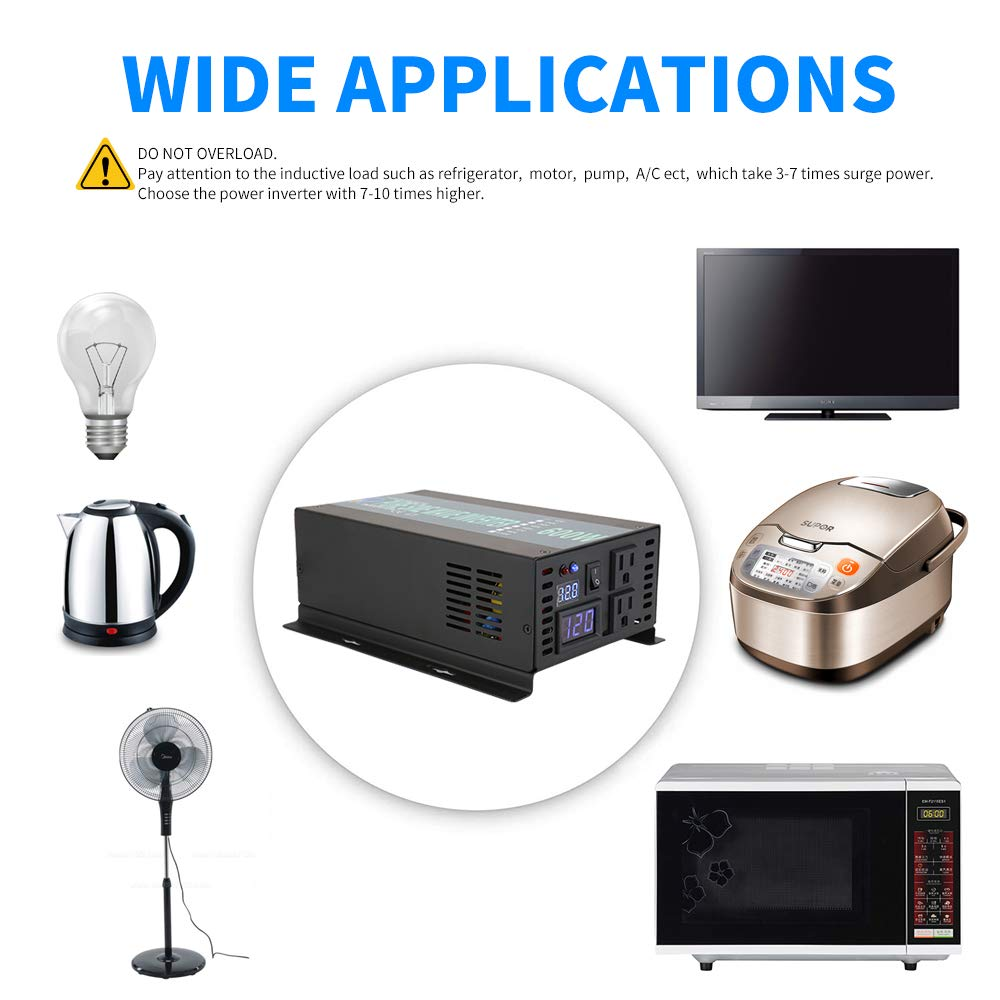 WZRELB RBP600S Full Power Pure Sine Wave Power Converter Yueqing Reliable Electric Co Ltd.