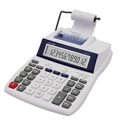 Olympia CPD 435 - Calculadora (impresora, 12 dígitos ...