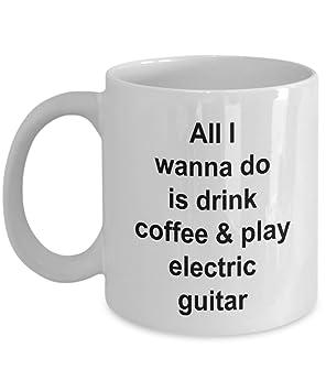Taza de guitarra eléctrica - Reproductor de jugando guitarra ...