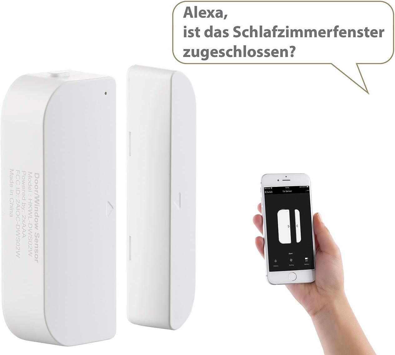 WiFi Tür Fenster Sensor Alarmanlage Smart für Google Alexa