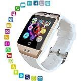 LayOPO Reloj Inteligente con cámara, Q18 Smartwatch ...