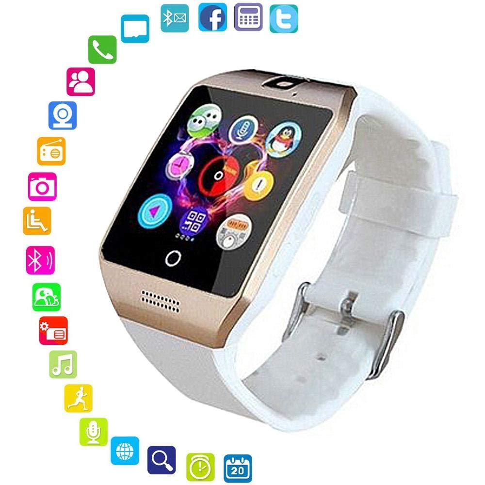 Amazon.com: Leegoal Bluetooth Smart Wristwatch, Waterproof ...