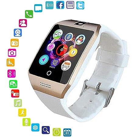 FOONEE Reloj Inteligente con cámara, Q18 Bluetooth Smartwatch ...