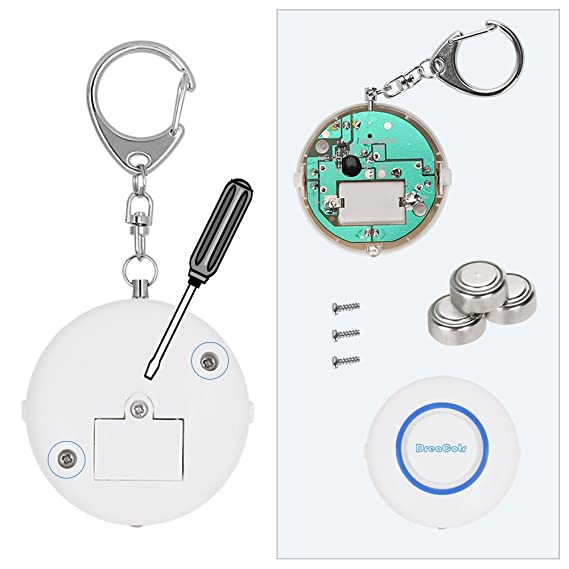 Amazon.com: dreacotr alarma Personal, 130 dB seguridad ...