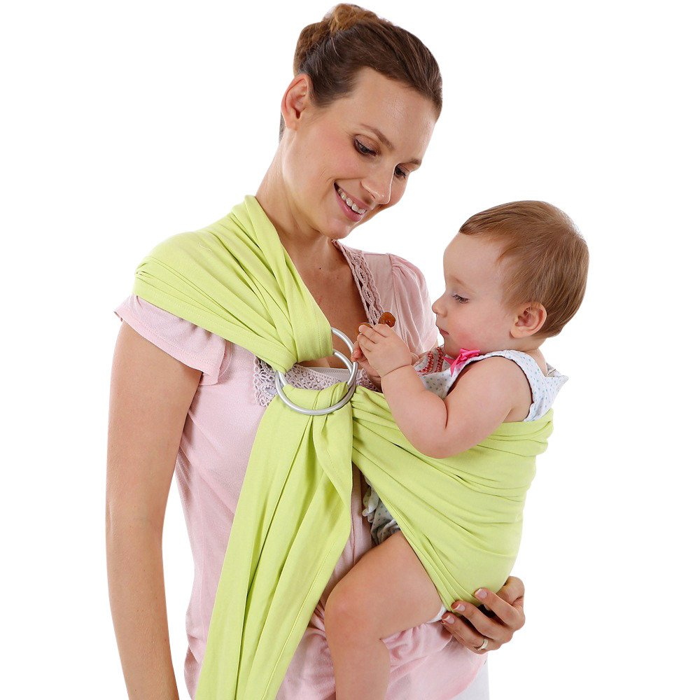 SEXYYE Recorrido del beb/é con correa de anillo Envoltura para beb/és Cabestrillo El/ástico Beb/és reci/én nacidos Ni/ños peque/ños Lactancia materna Transpirable
