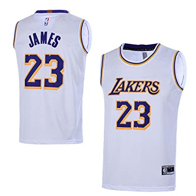fdd65098a40 Amazon.com: Outerstuff Youth 8-20 Los Angeles Lakers #23 LeBron James Kids  Jersey: Clothing
