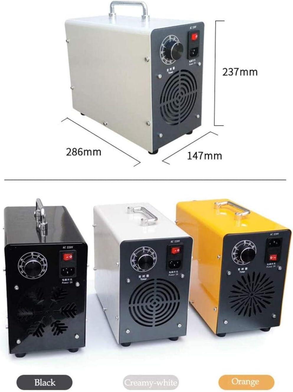 LIUTAO Generador de ozono 20,000 MG//h ozono purificador de Aire desinfecci/ón del hogar Dispositivo de ozono ozonizador esterilizador de prevenci/ón de Virus para Oficina en el hogar Hotel Coche-UNA