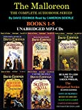 Download The Complete Malloreon Series Books 1-5 (Guardians of the West, King of the Murgos, Demon Lord of Kranda, Sorceress of Darshiva, The Seeress of Kell) [Unabridged Audio MP3-CD) by David Eddings in PDF ePUB Free Online
