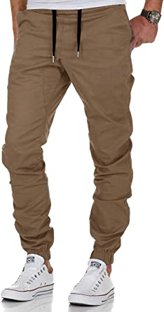 AitosuLa - Pantalones de chándal para hombre, de algodón ...