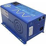 AIMS Power 1500 Watt 12 VDC Pure Sine Inverter Charger w/ 4500W Surge