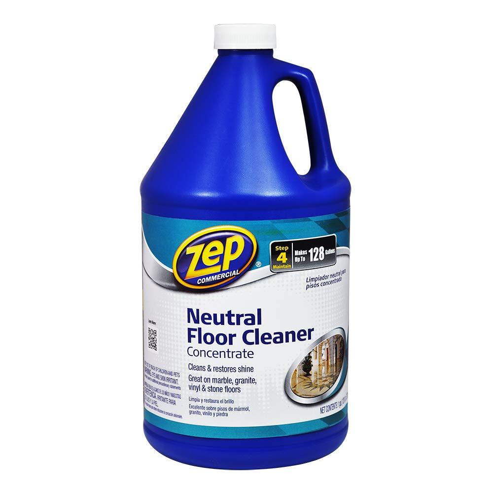 ZEP ZUNEUT128 Neutral Floor Cleaner Concentrate 128 Ounces