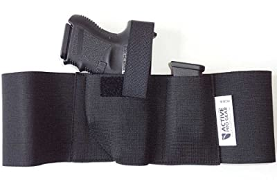 Defender Belly Band Holster for Concealed Carry Elastic Waist Band Handgun