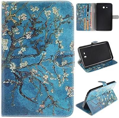 Amazon.com: Tab 3 Case Galaxy Tab 3 T116 Flip Kickstand Case ...