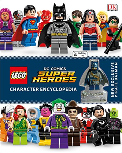 LEGO DC Comics Super Heroes Character Encyclopedia: New Exclusive Pirate Batman Minifigure
