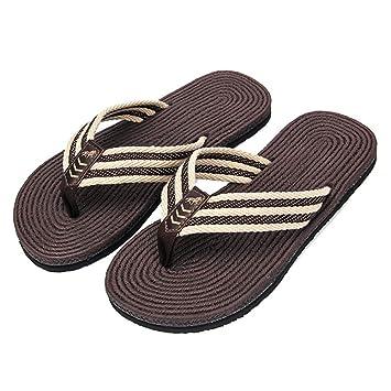 Hommes de Chaussures Tongs Hommes Piscine Pantoufle Pas Cher