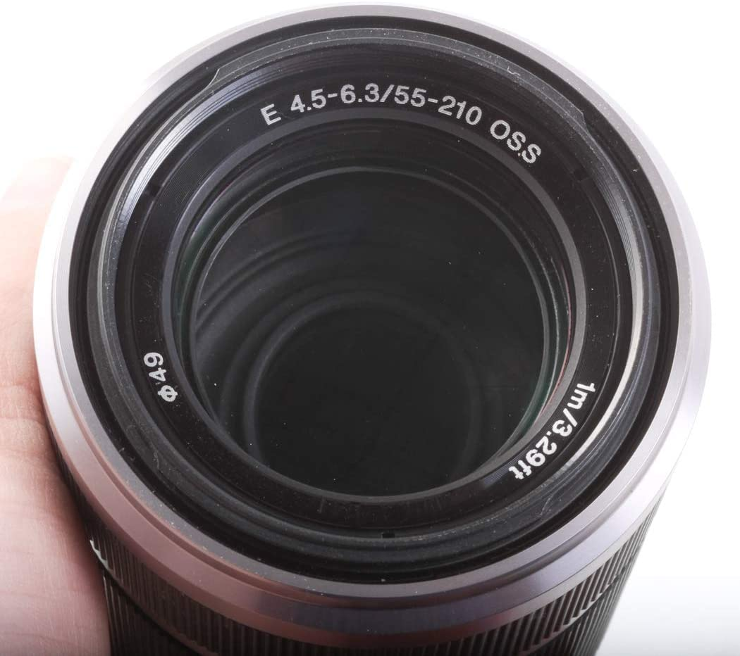 Camera Lens E Mount 55-210MM F 4.5 for Sony Cameras with Front /& Rear CAPS