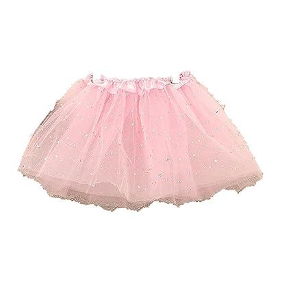 Falda Bebé niña ❤ Amlaiworld Vestido de fiesta de princesa de lentejuelas Faldas de baile