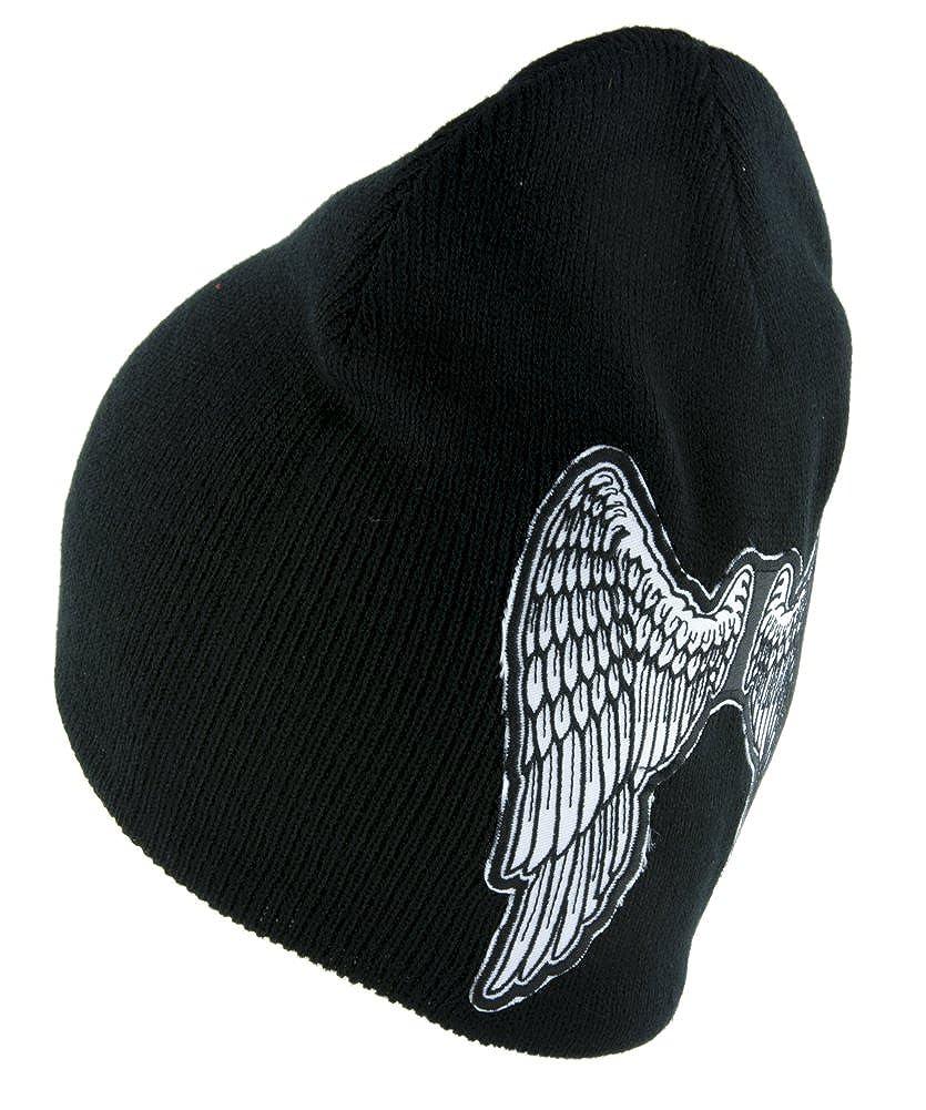 The Walking Dead Daryl Angel Wings Beanie Alternative Style Clothing Knit Cap