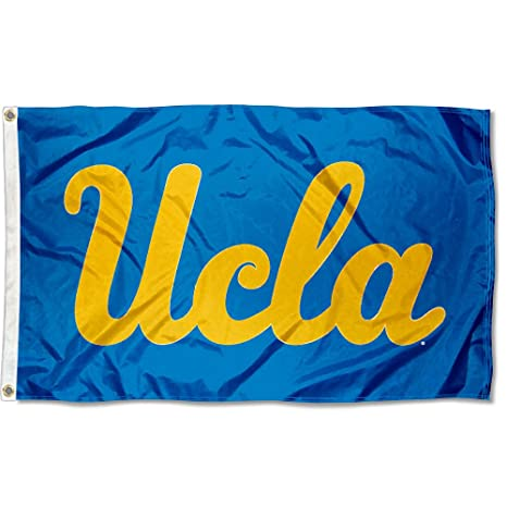 College Flags And Banners Co UCLA Bruins Wordmark Flag Large 3x5