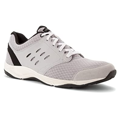 Vionic with Orthaheel Technology Men's Contest Active Lace Up,Light Grey,US  ...