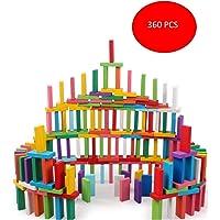 Vivir Dominoes Blocks Stacking Toys for Kids (360 PCS)