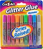 Cra-Z-art Glitter Glue Tubes, Pack of 9 (11300)