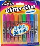 Cra-Z-art Glitter Glue Tubes, Pack of 9 (11300)