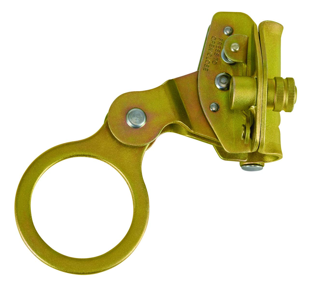 FallTech 7479 Hinged Self-Tracking 5/8-Inch Rope Grab with 2-Inch Connecting Eye