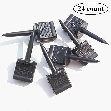 Zielscheibe Nagel Kunststoff Nadels Pushpin Bogenschie/ßen set f/ür Zielscheibe Packung pro 24