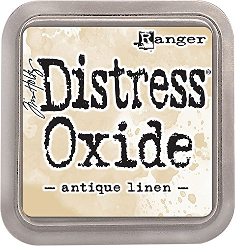 (Ranger Ink Pad Antique Linen THoltz Distress Oxides )