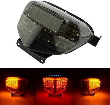 2008-2009 Suzuki GSXR GSX-R 600 750 Smoke LED Tail Brake Light Turn Signals Lamp