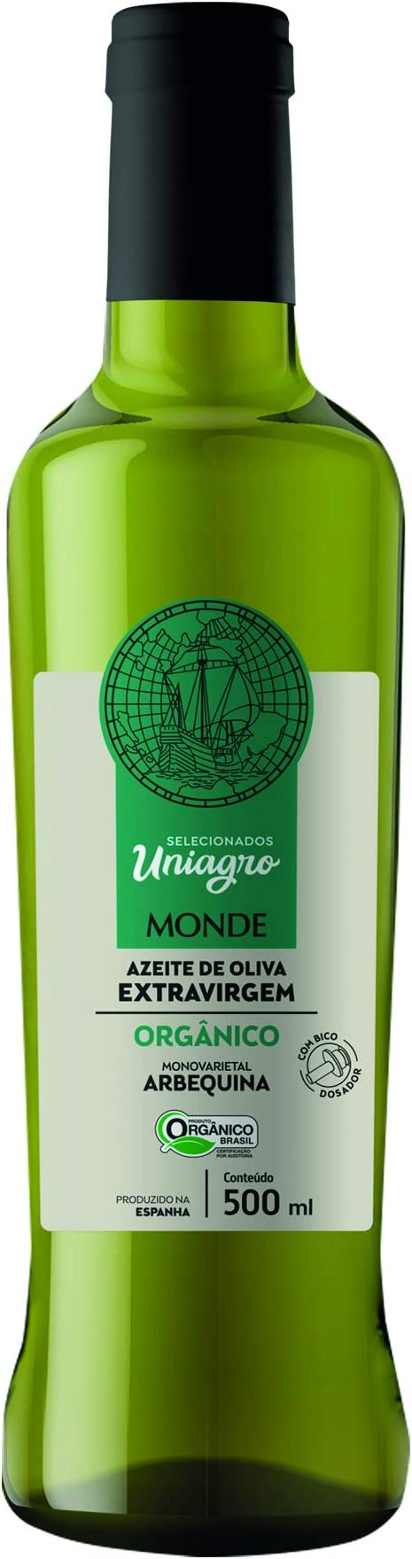 Azeite de Oliva Extra Virgem Organico 500 Ml