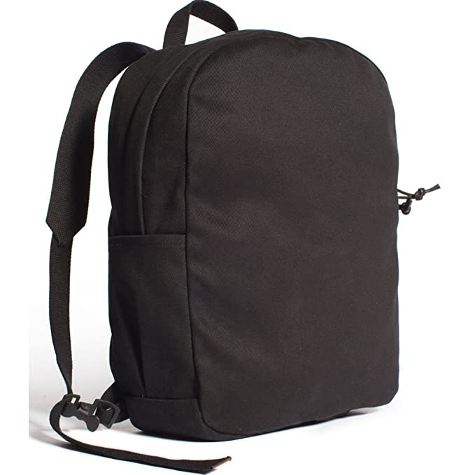 50fab9bc4802 Joshu + Vela Zip Backpack - Canvas Black  Amazon.ca  Clothing   Accessories