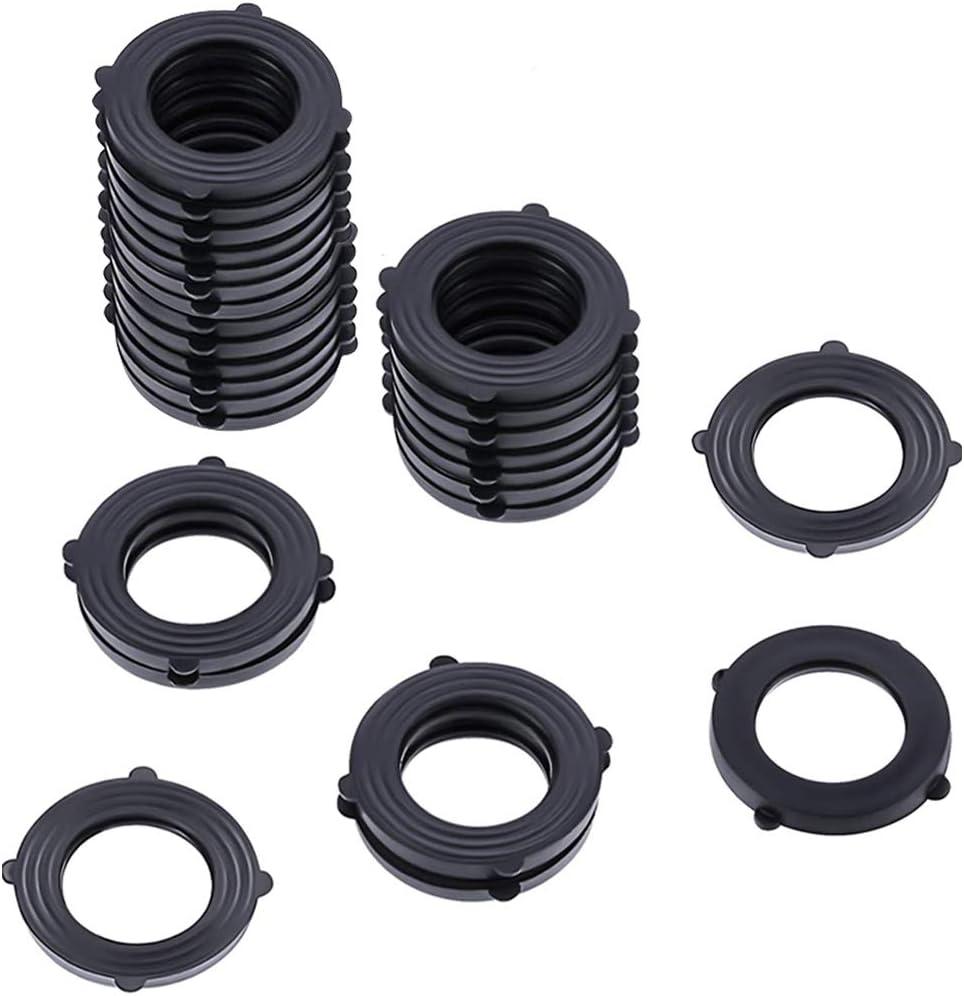 Hose Seals Garden Hose Gasket Seal Hose Connector Gaskets O Ring 30Pcs for Leak Proof