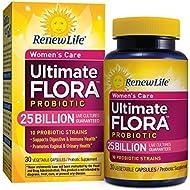 Renew Life - Ultimate Flora Probiotic Women's Care - 25 billion - 30 vegetable capsules