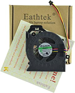 Eathtek Replacement CPU Cooling Fan for HP Pavilion dv7-6000 dv7-6100 dv7-6b01xx dv7-6b32us dv7-6b55dx dv7-6b56nr dv7-6b57nr dv7-6b63us dv7-6b86us dv7-6b91nr dv7-6c20us dv7-6c27cl dv7-6199us Series