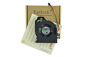 Eathtek Replacement CPU Cooling Fan for HP Pavillion DV7-6000 DV6-6000 DV6-6100 DV6-6200 DV6-6033CL DV7-6153NR Series, Compatible with Part# 653627-001