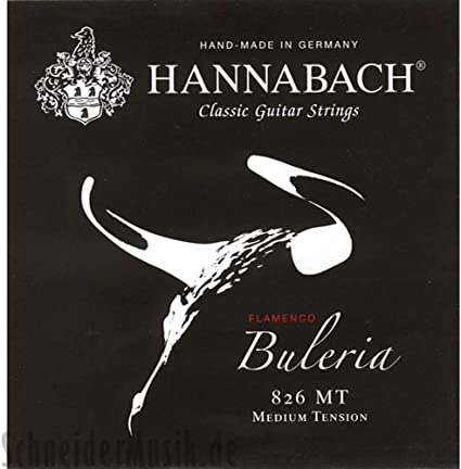 Hannabach 826 Serie Flamenco Buleria - Cuerda de guitarra flamenca ...