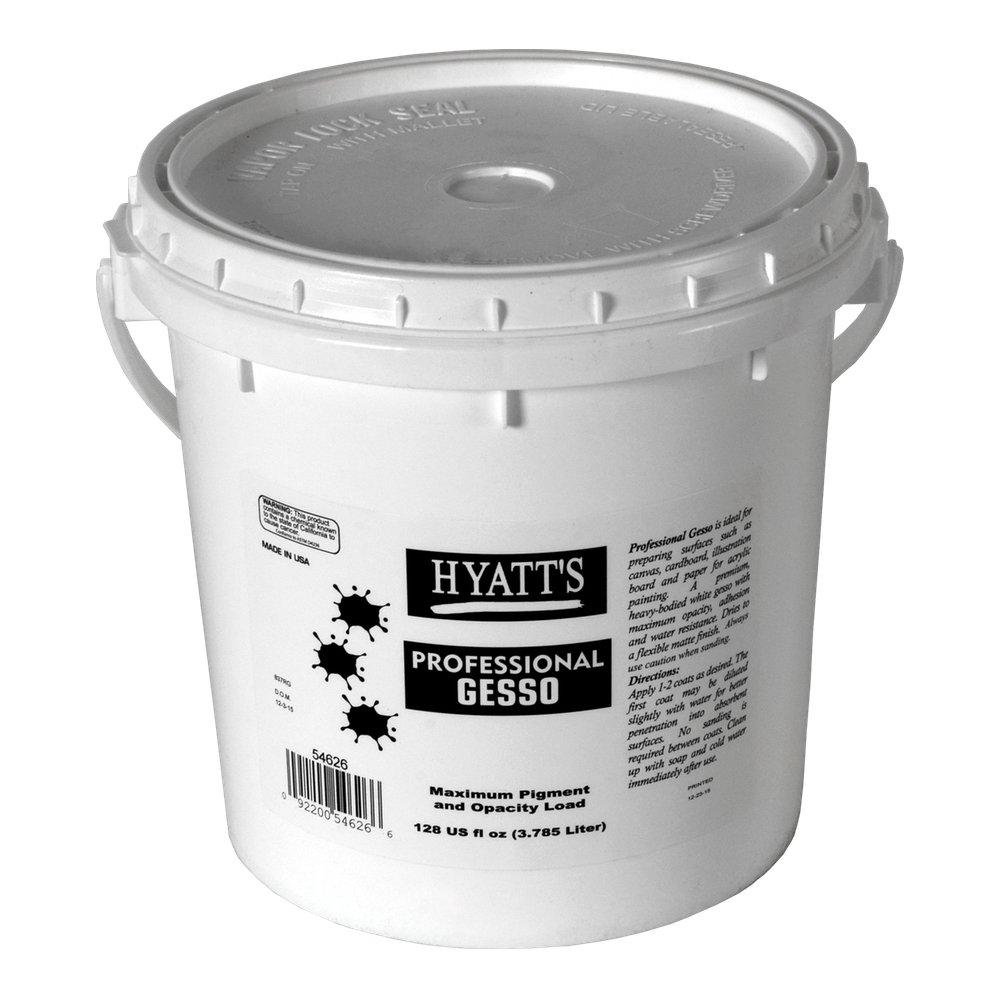 Hyatt's Professional Gesso, Size Gallon
