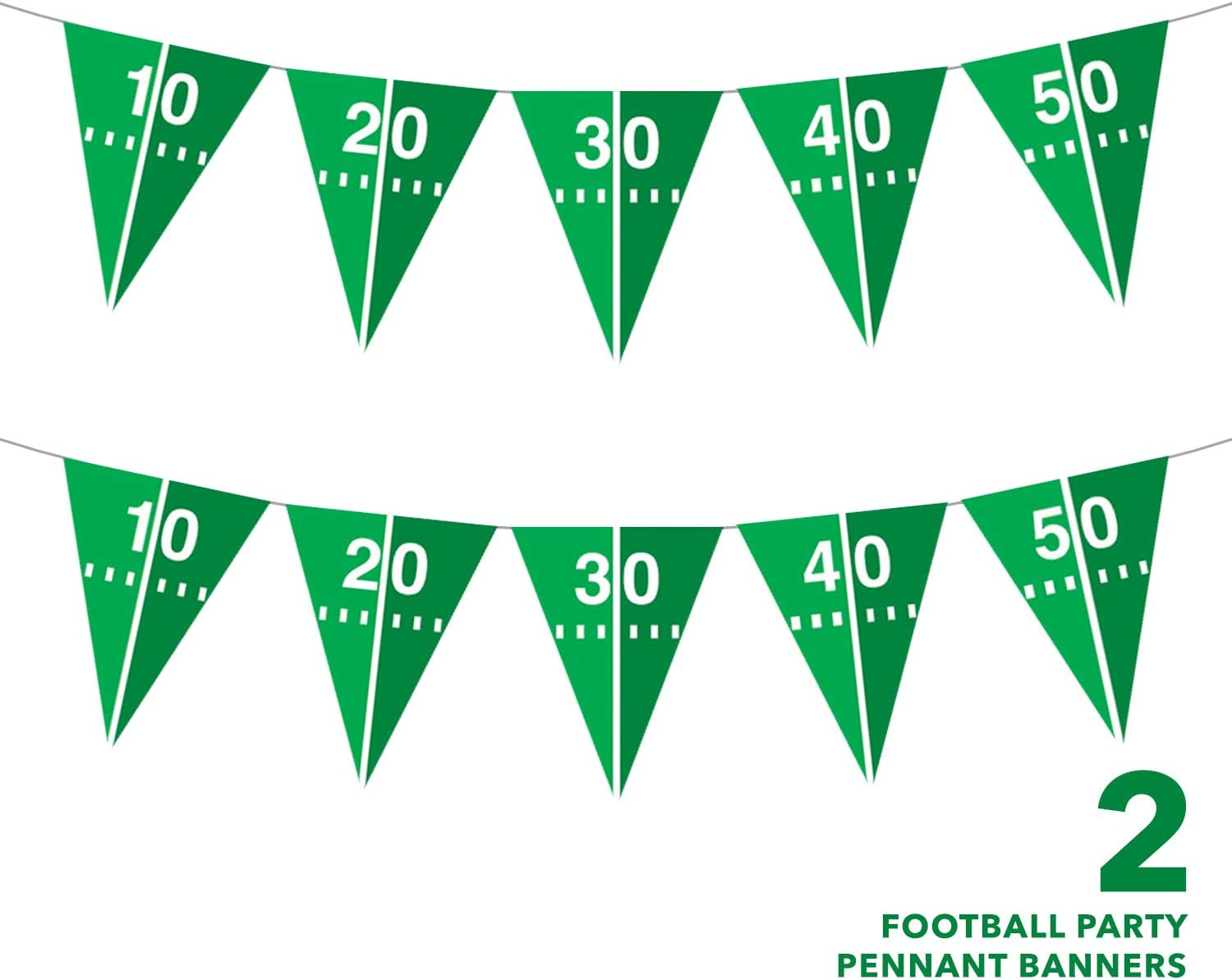 Football Party Supplies Serves 16 Paper Dinner Size Plates /& Luncheon Napkins