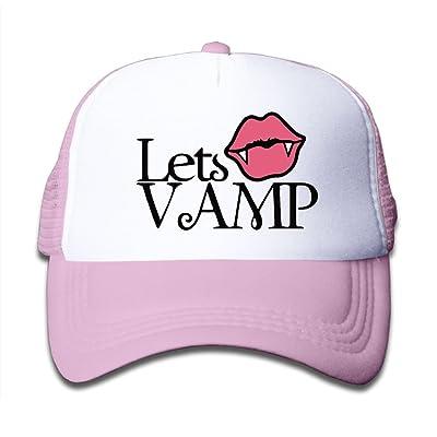 DNUPUP Kid's Vampire Lips Adjustable Casual Cool Baseball Cap Mesh Hat Trucker Caps