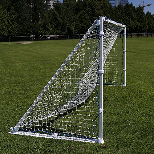 FARPOST SOCCER COMPANY Portable Aluminum Soccer Goal - Size Changes from 4'x8' to 4'x6' to 4'x4'