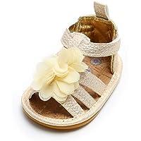Lacofia Sandalias de Verano para bebé niñas Zapatos