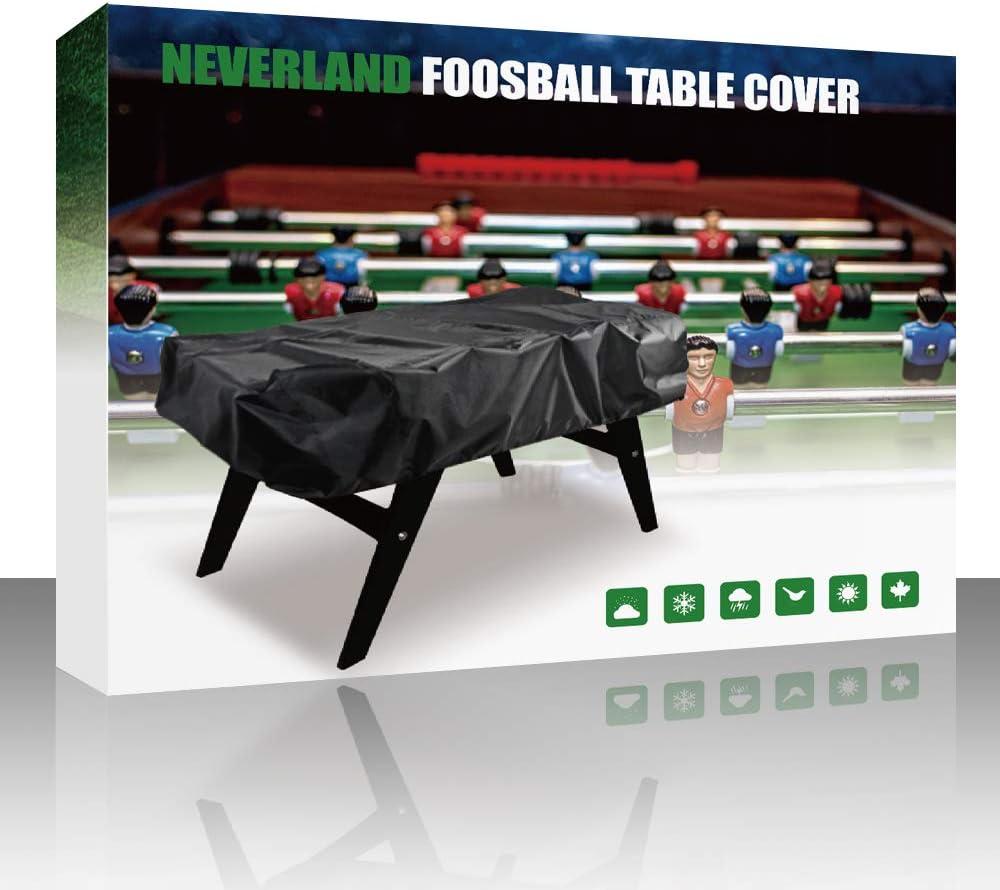 NEVERLAND Funda Cubierta de Mesa de futbolín Impermeable ...