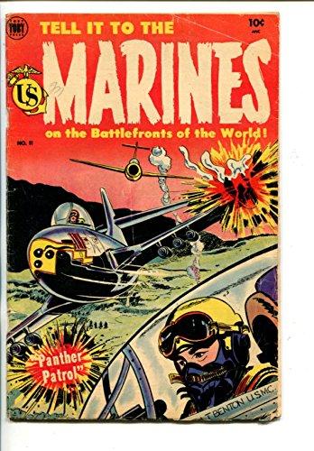 tell-it-to-the-marines-11-1955-korean-air-war-cover-vg