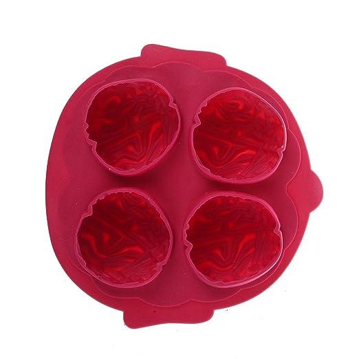 5 opinioni per Sodial(R)- Vaschetta con 4 cubetti di ghiaccio a forma di cervello