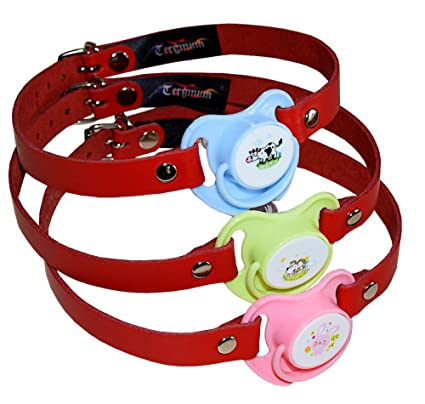 Roja Bondage Mouth Gag Fetish Adult Baby Dummy Pacifier Gag ...