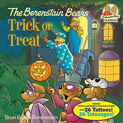 Three Bears Halloween Book (The Berenstain Bears Trick or Treat (Deluxe Edition) (First Time)